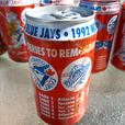 Toronto Blue Jays Champion Season Coca Cola Cans